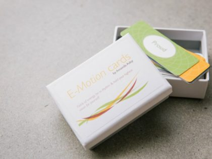 E-Motion cards: a tool for greater self-awareness